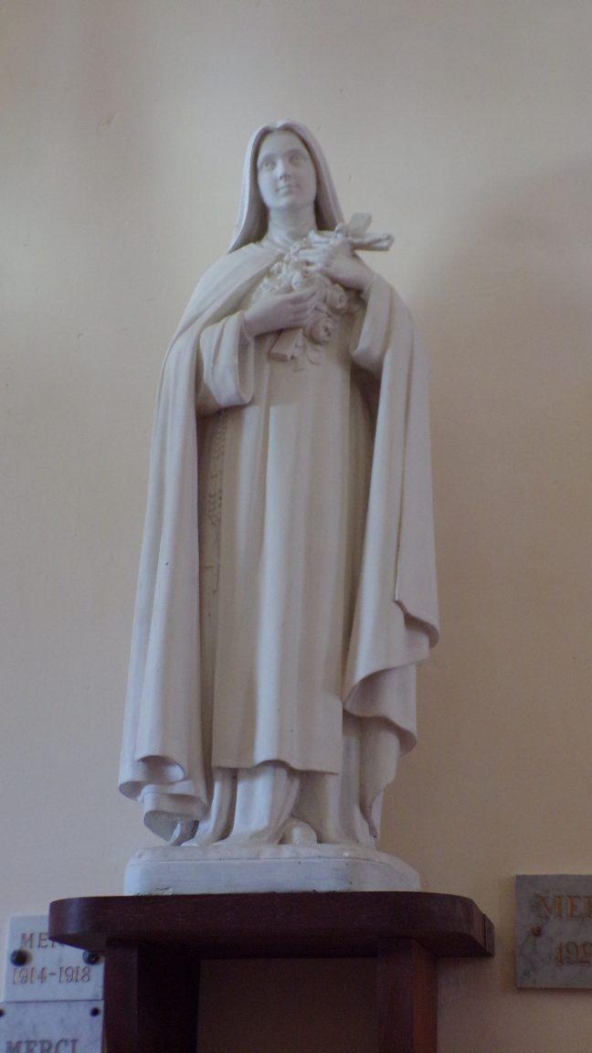 """Boutiers - L'église Saint-Antoine - Sainte Thérèse de Lisieux dite """"Sainte Thérèse de l'Enfant Jésus (23 avril 2018)"""