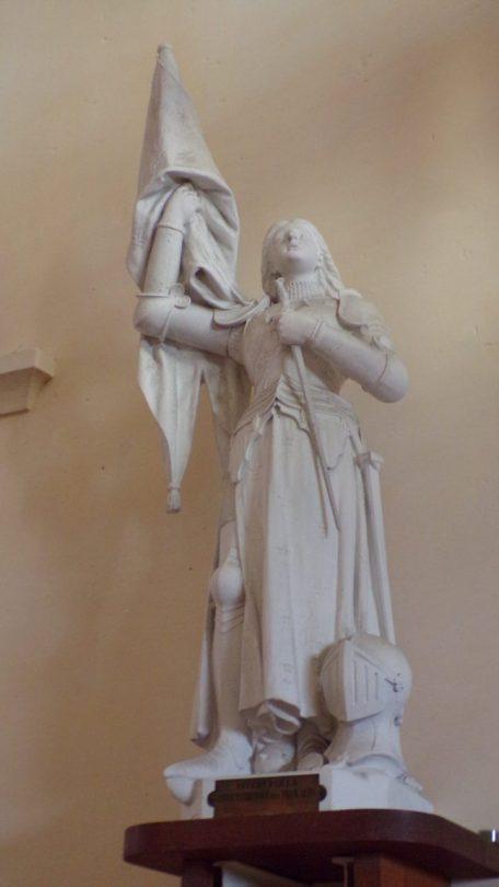 Boutiers - L'église Saint-Antoine - Jeanne d'Arc (23 avril 2018)