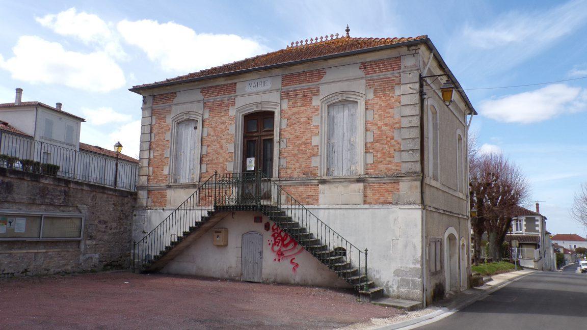 Genté - L'ancienne mairie (5 avril 2018)