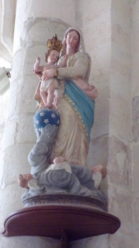 Gimeux - L'église Saint-Germain (5 avril 2018)