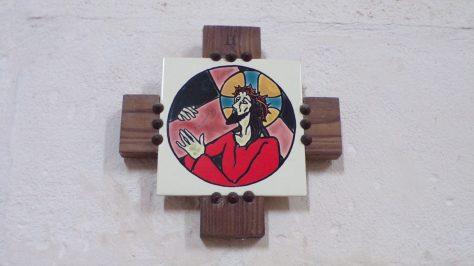 Gimeux - L'église Saint-Germain - Le chemin de croix (5 avril 2018)