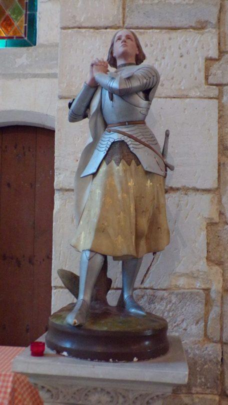 Réparsac - L'église Saint-Pierre - Jeanne d'Arc (10 avril 2018)