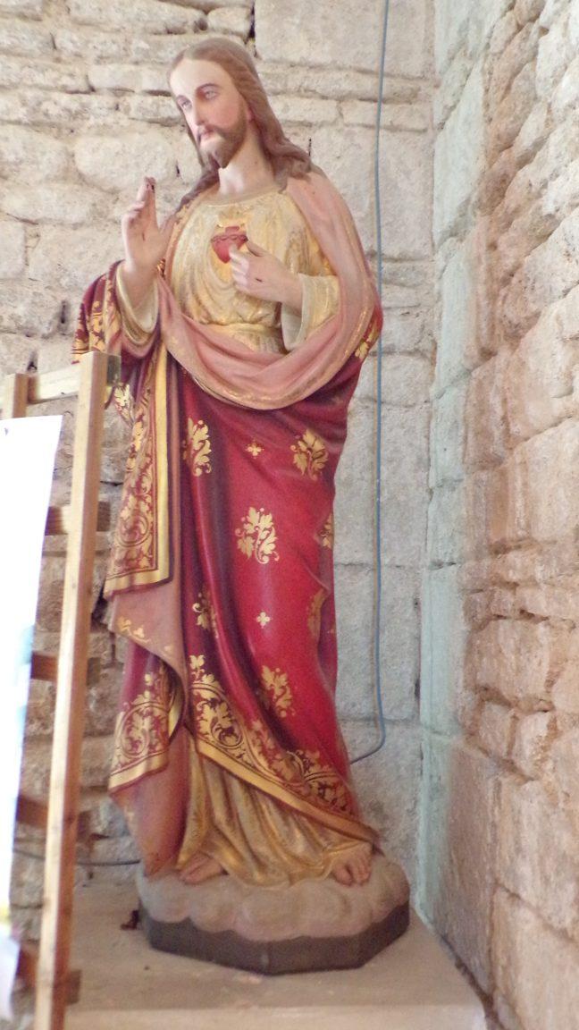 Réparsac - L'église Saint-Pierre - Sacré Coeur de Jésus (10 avril 2018)
