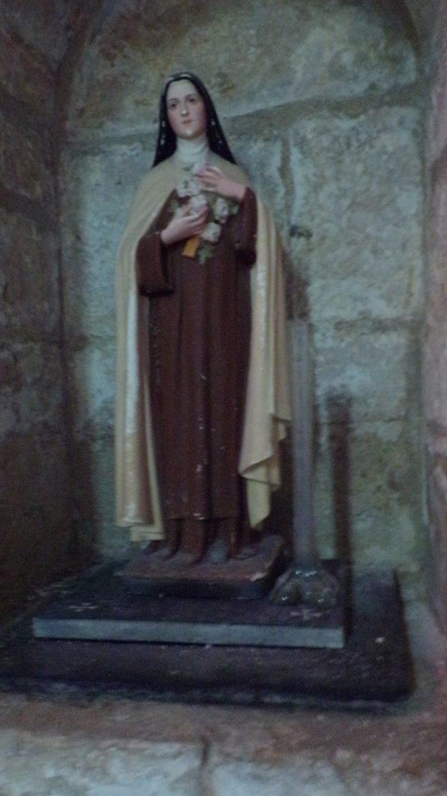 """Macqueville - L'église Saint-Etienne - Sainte Thérèse de Lisieux dite """"Sainte Thérèse de l'Enfant Jésus"""" (27 avril 2018)"""