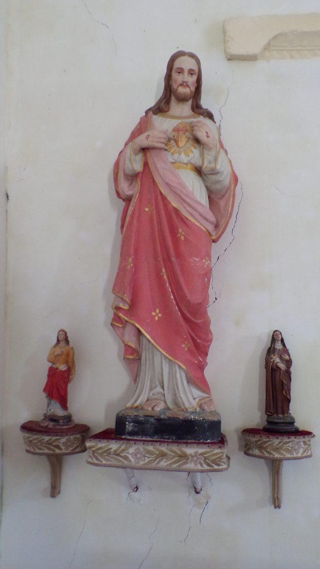 Boutiers-Saint-Trojan - L'église Saint-Trojan - Sacré Coeur de Jésus (23 avril 2018)