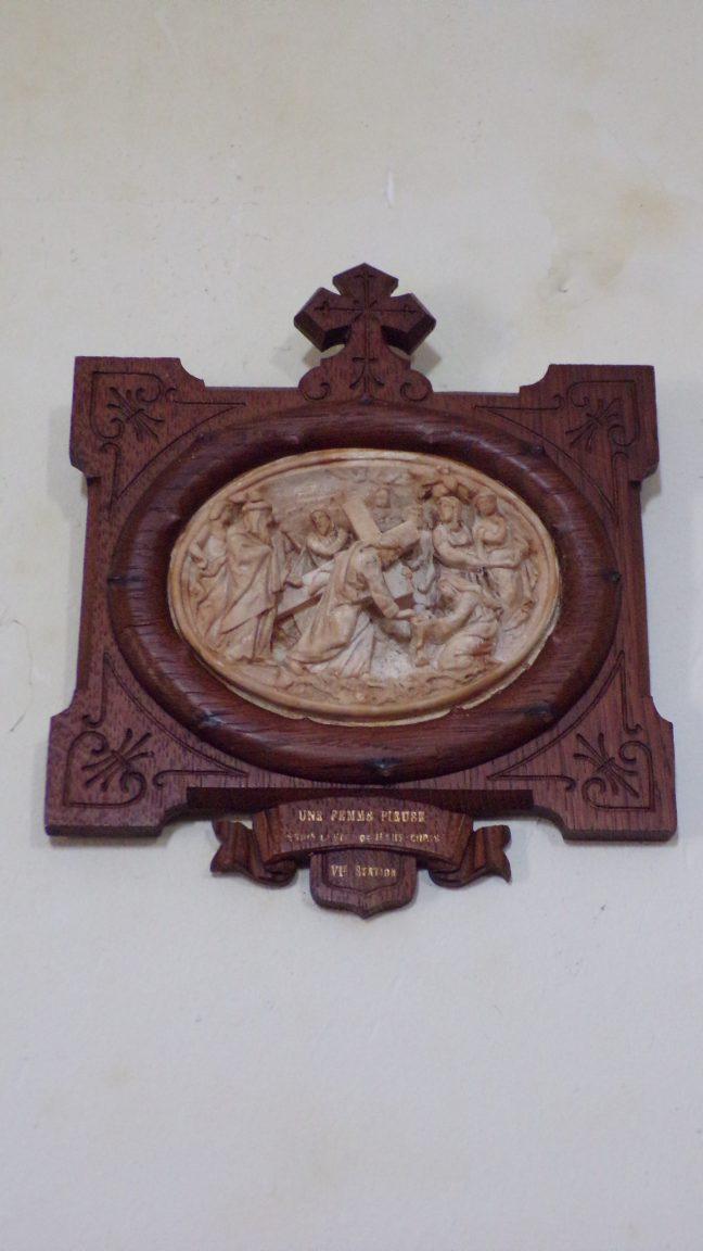 Boutiers-Saint-Trojan - L'église Saint-Trojan - Le chemin de croix (23 avril 2018)