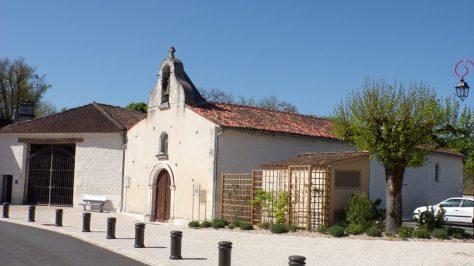 Salignac-sur-Charente - L'église Saint-Louis (19 avril 2018)