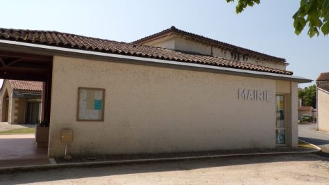 Angeac-Charente - La mairie (5 mai 2018)