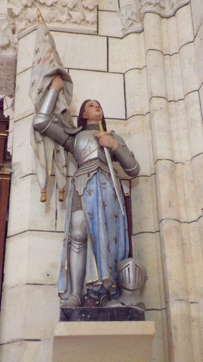 Angeac-Charente - L'église Saint-Pierre - Jeanne d'Arc (5 mai 2018)