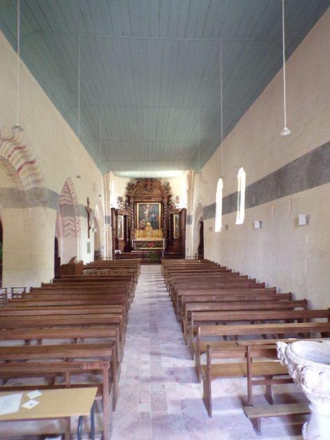 Ars - L'Eglise Saint-Maclou - Vue de la porte d'entrée (24 mai 2018)