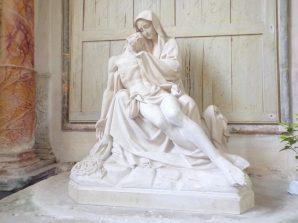Ars – L'Eglise Saint-Maclou - La Vierge de Pitié (24 mai 2018)