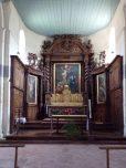 Ars - L'église Saint-Maclou - L'autel (24 mai 2018)