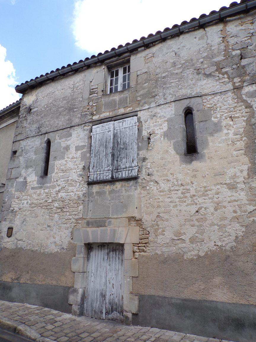 Jarnac - La maison du prieur (23 mai 2018)