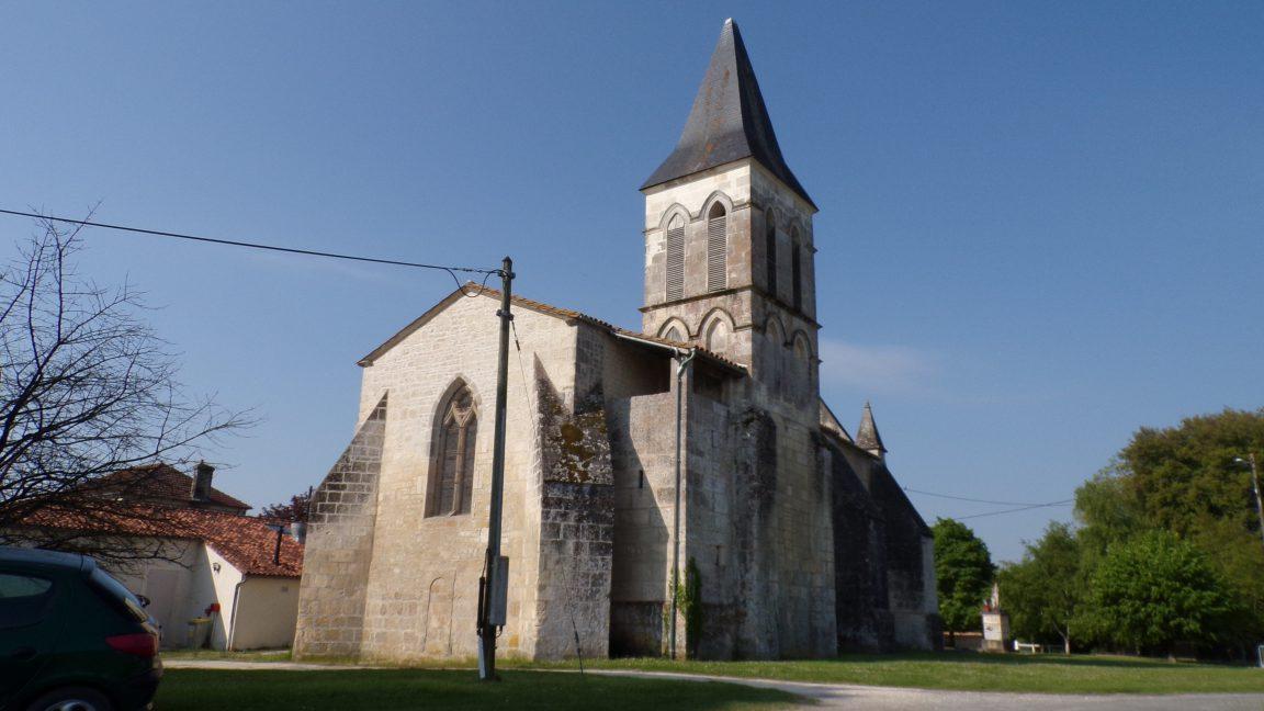 Mainxe - L'église Saint-Maurice (5 mai 2018)