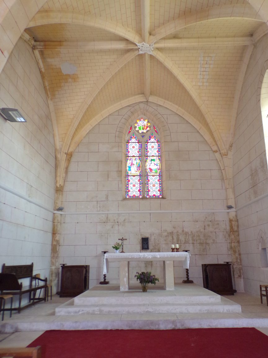 Mainxe - L'église Saint-Maurice - Le choeur (7 mai 2018)
