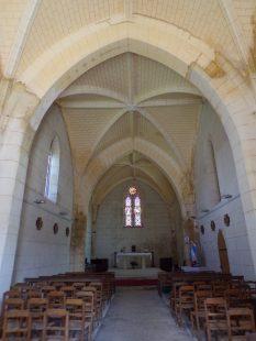 Mainxe - L'église Saint-Maurice (7 mai 2018)