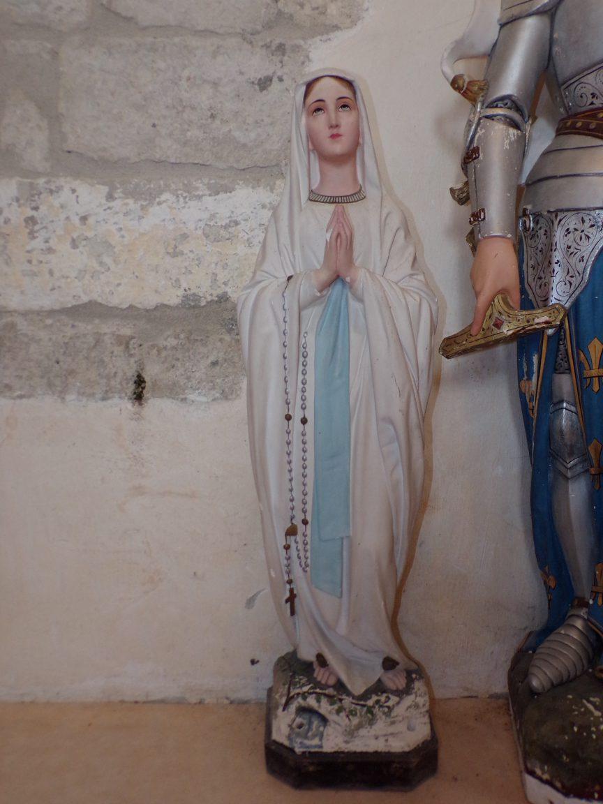 Merpins - L'église Saint-Rémy - Vierge Miraculeuse (28 mai 2018)