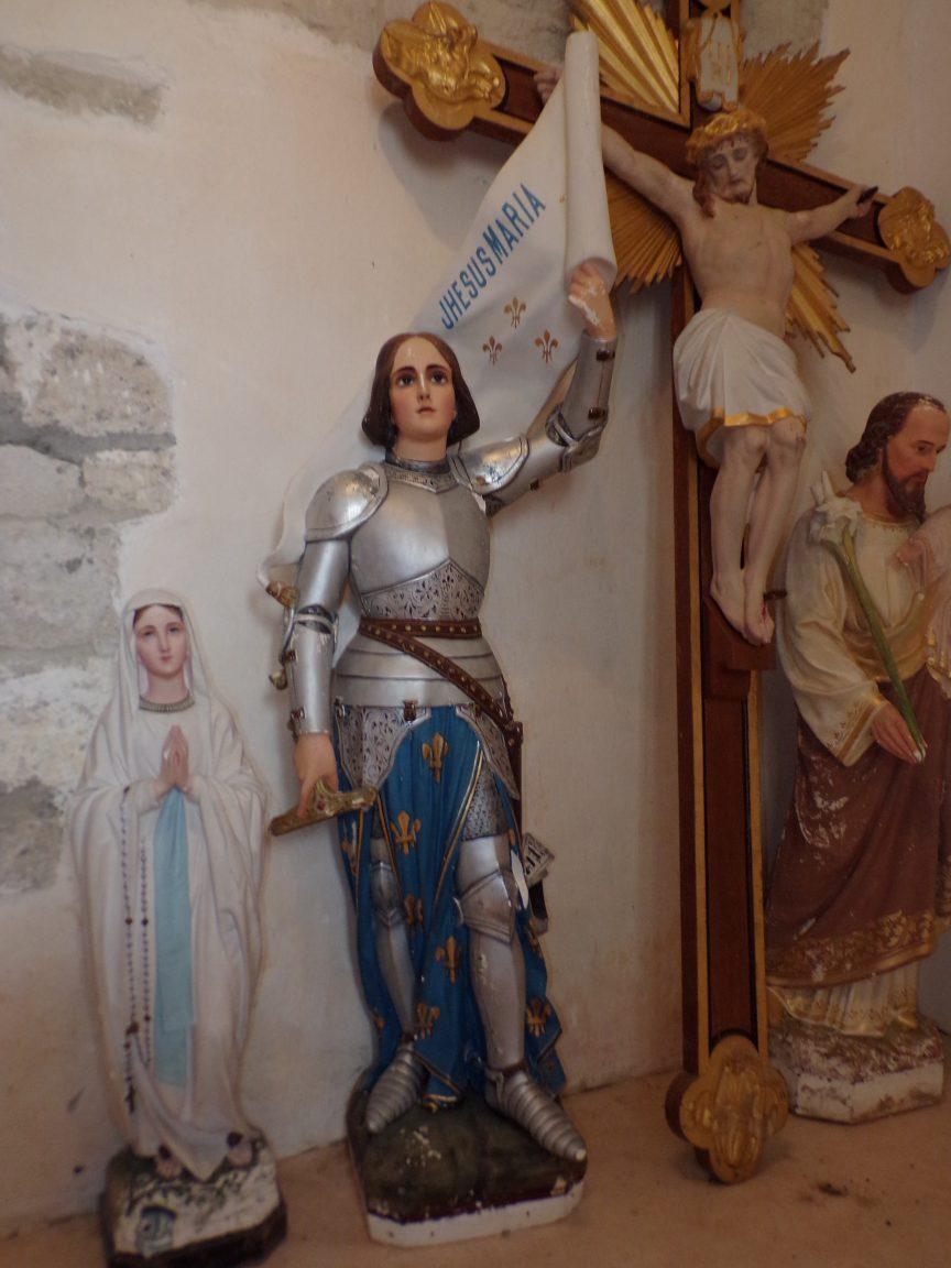 Merpins - L'église Saint-Rémy - Jeanne d'Arc (28 mai 2018)
