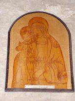 Merpins - L'église Saint-Rémy - Sculpté par les moines du monastère de Mont-Rouge (28 mai 2018)