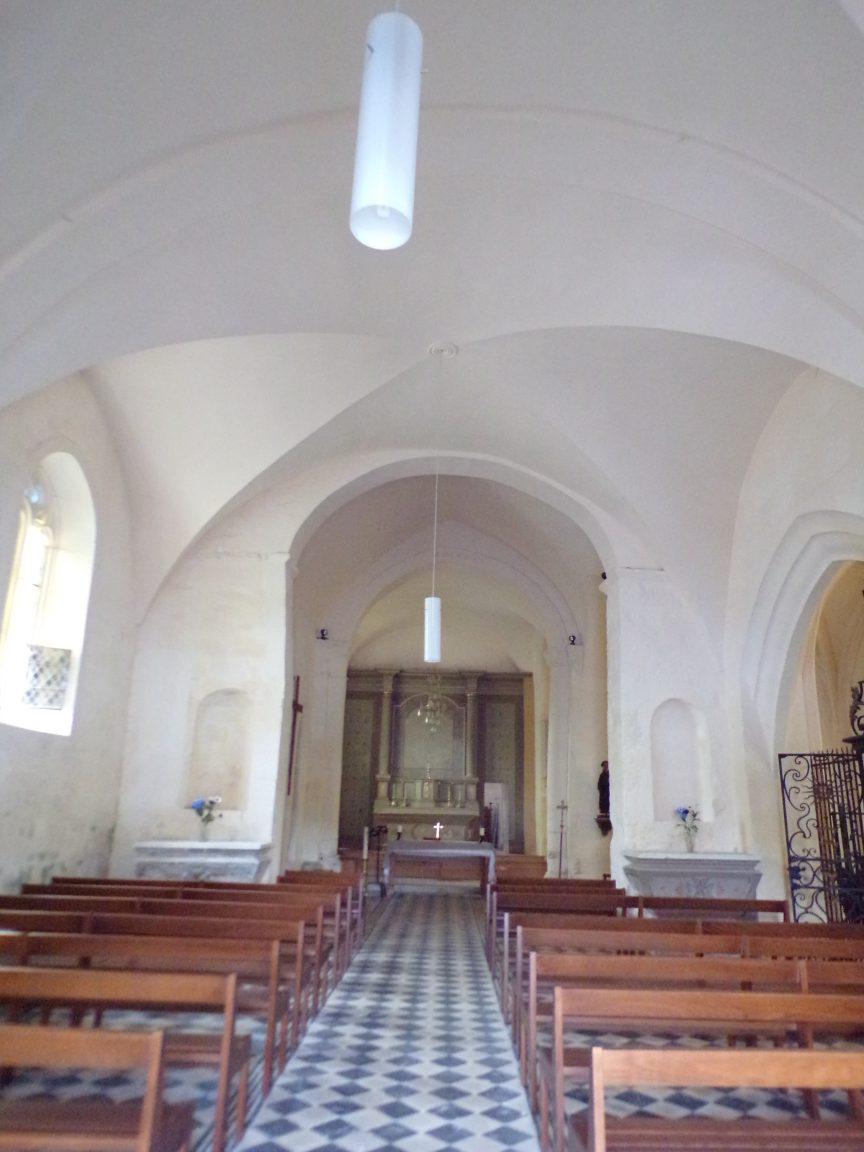 Saint-Laurent de Cognac - L'église Saint-Laurent - Vue de l'entrée (31 mai 2018)