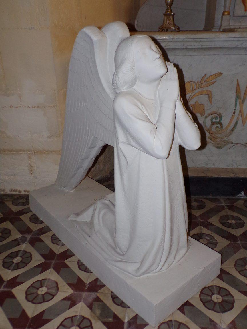 Saint-Laurent de Cognac - L'église Saint-Laurent - Un ange (31 mai 2018)