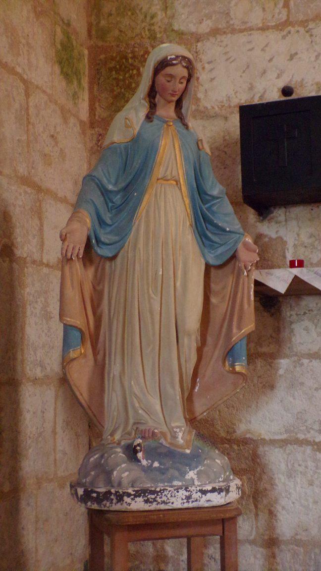 Saint-Simon - L'église Saint-Sigismond - Notre Dame de Lourdes (5 mai 2018)