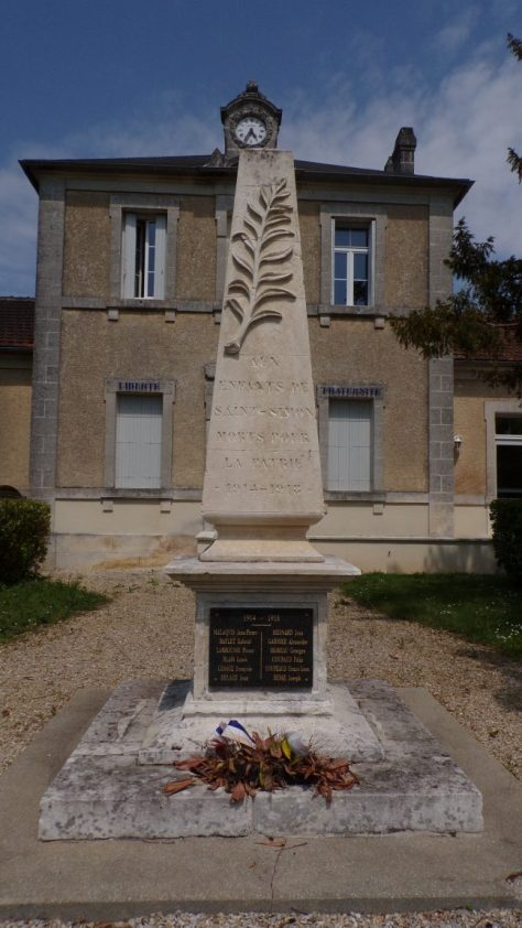 Saint-Simon - Le monument aux morts (5 mai 2018)