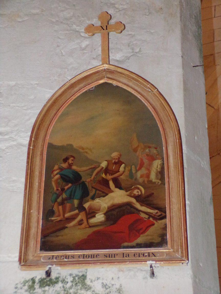Verrières - L'église Saint-Palais - Le chemin de croix (7 mai 2018)