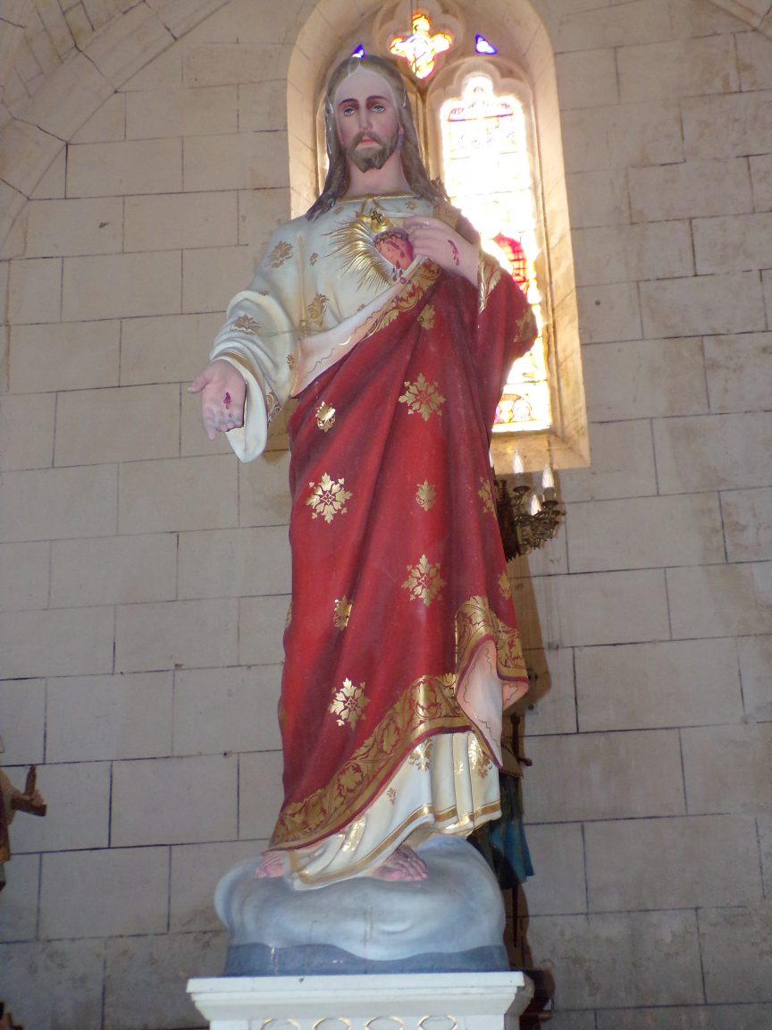 Verrières - L'église Saint-Palais - Sacré Coeur de Jésus (7 mai 2018)