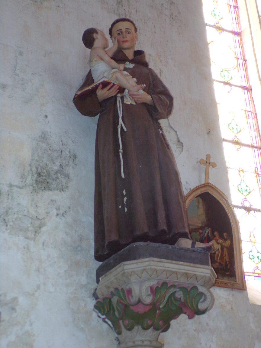Verrières - L'église Saint-Palais - Saint Antoine de Padoue(7 mai 2018)