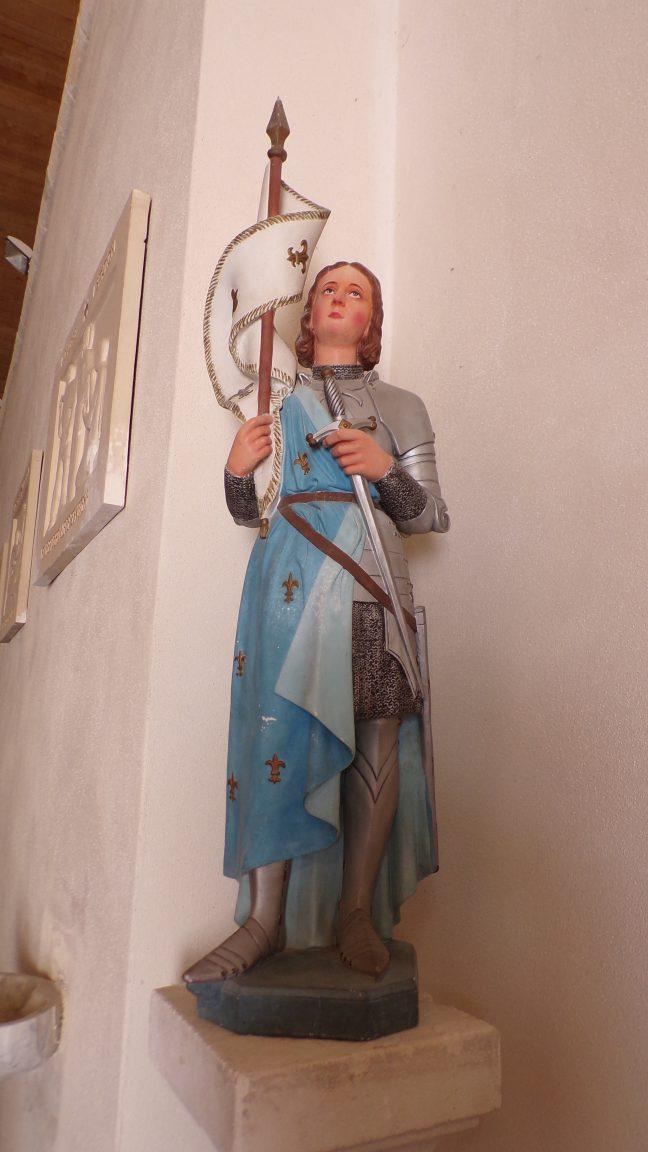 Vibrac - L'église Saint-Pierre - Jeanne d'Arc (5 mai 2018)