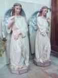 Brives sur Charente - L'église Saint-Etienne - Des anges (27 juin 2018)