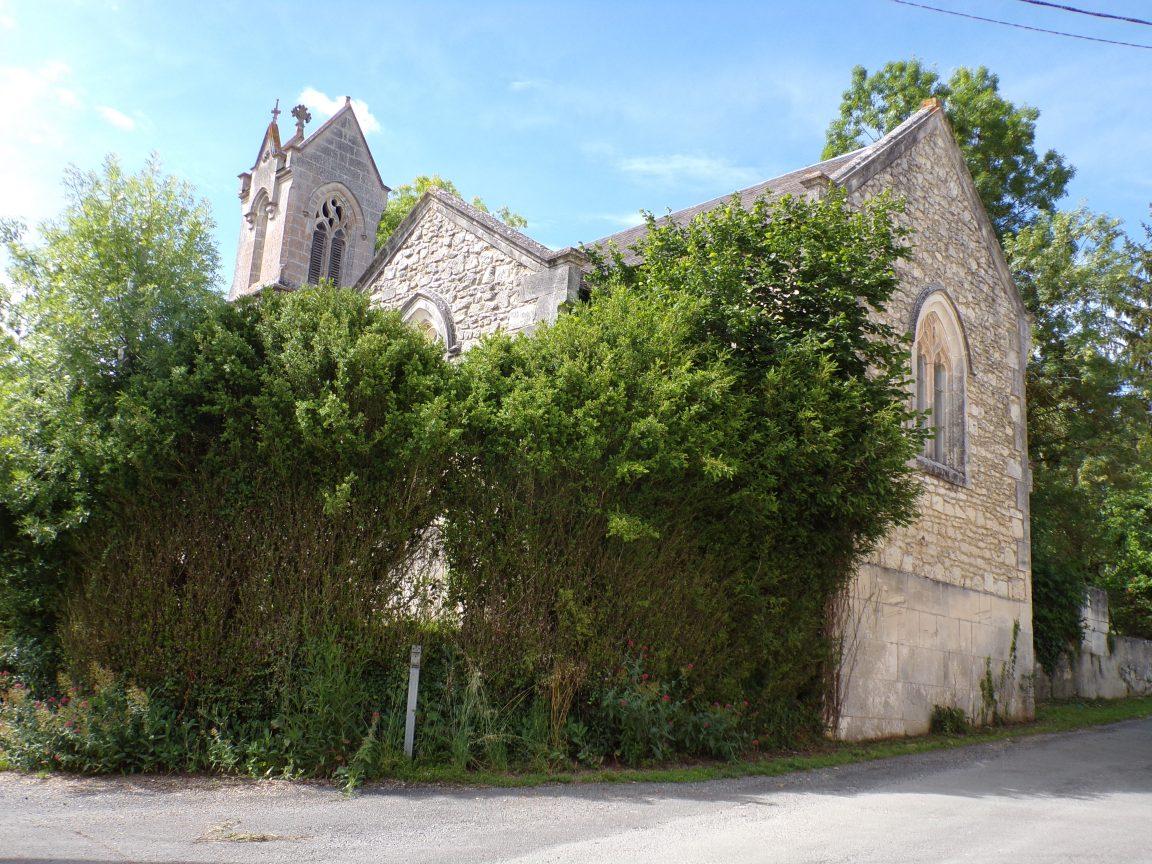 Dompierre-sur Charente - L'église d'Orlac (8 juin 2018)