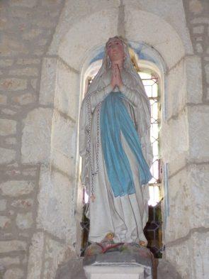 Dompierre-sur Charente - L'église Saint-Blaise - Notre Dame de Lourdes (8 juin 2018)