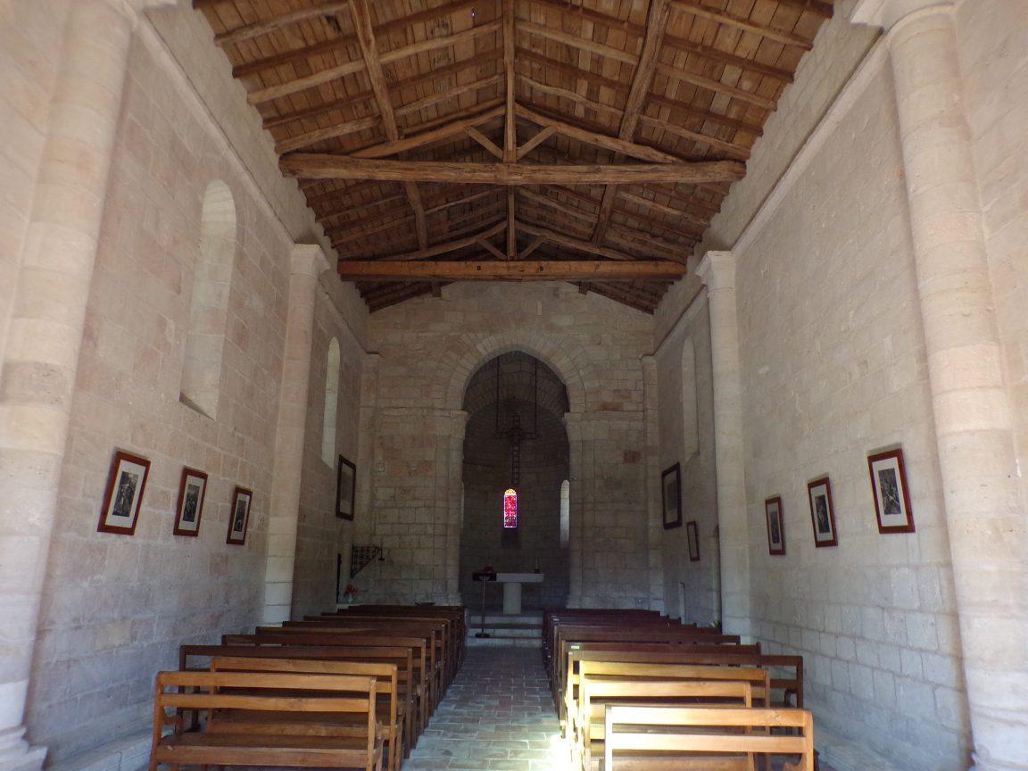 Le Seure - L'église Notre-Dame de l'Assomption - Vue de l'entrée (22 juin 2018)