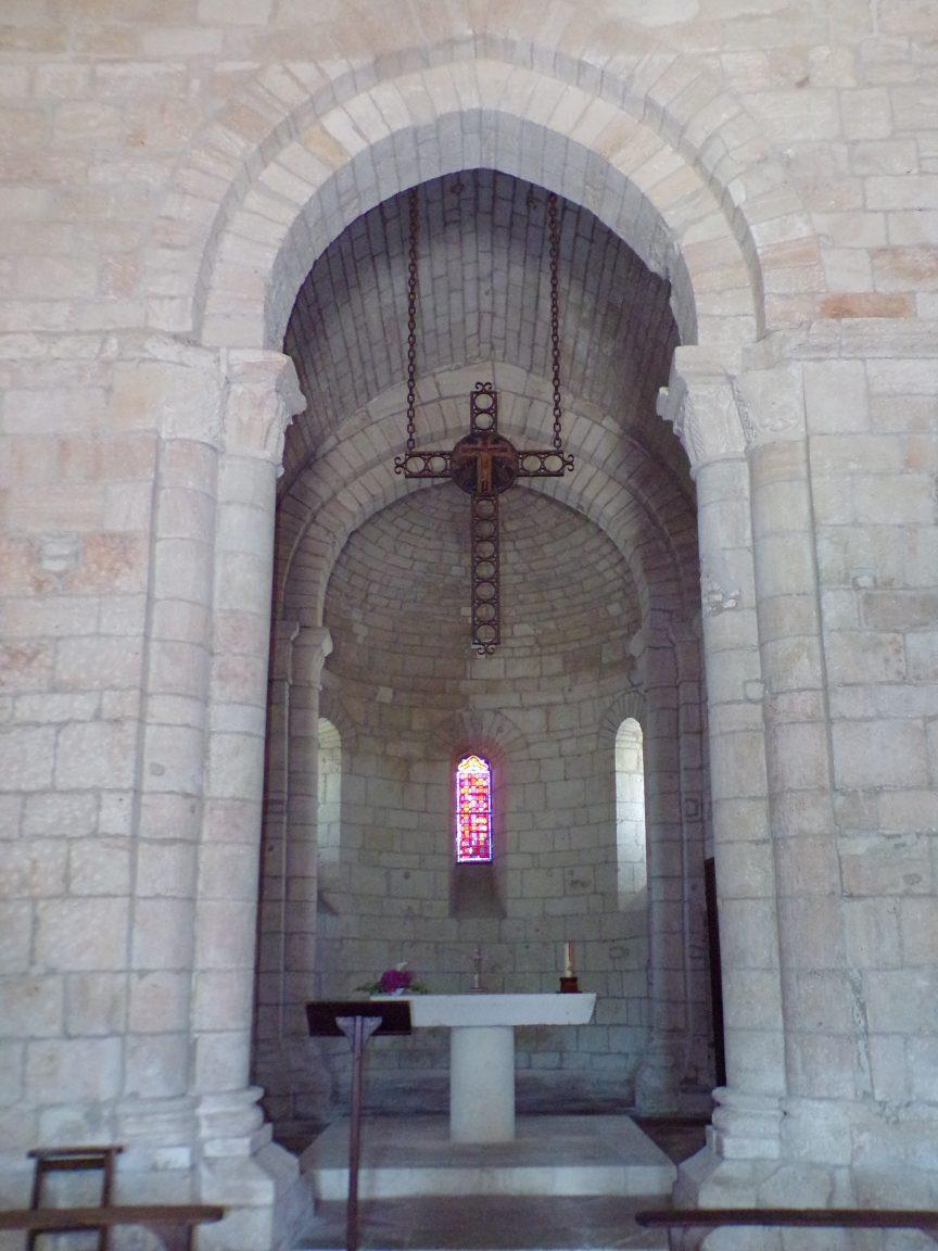 Le Seure - L'église Notre-Dame de l'Assomption - Le choeur (22 juin 2018)