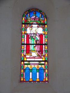 Louzac - L'église Saint-Martin (6 juin 2018)