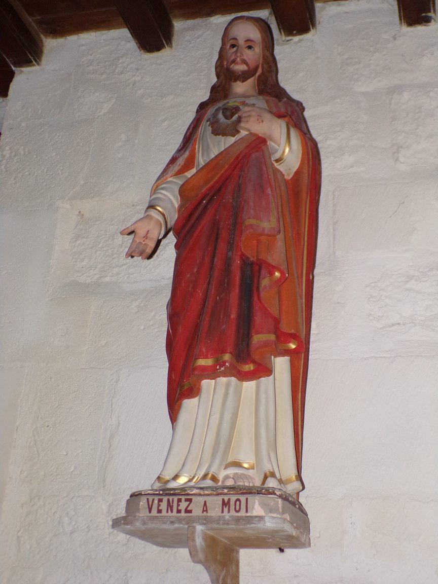 Louzac - L'église Saint-Martin 'Venez à moi' (6 juin 2018)