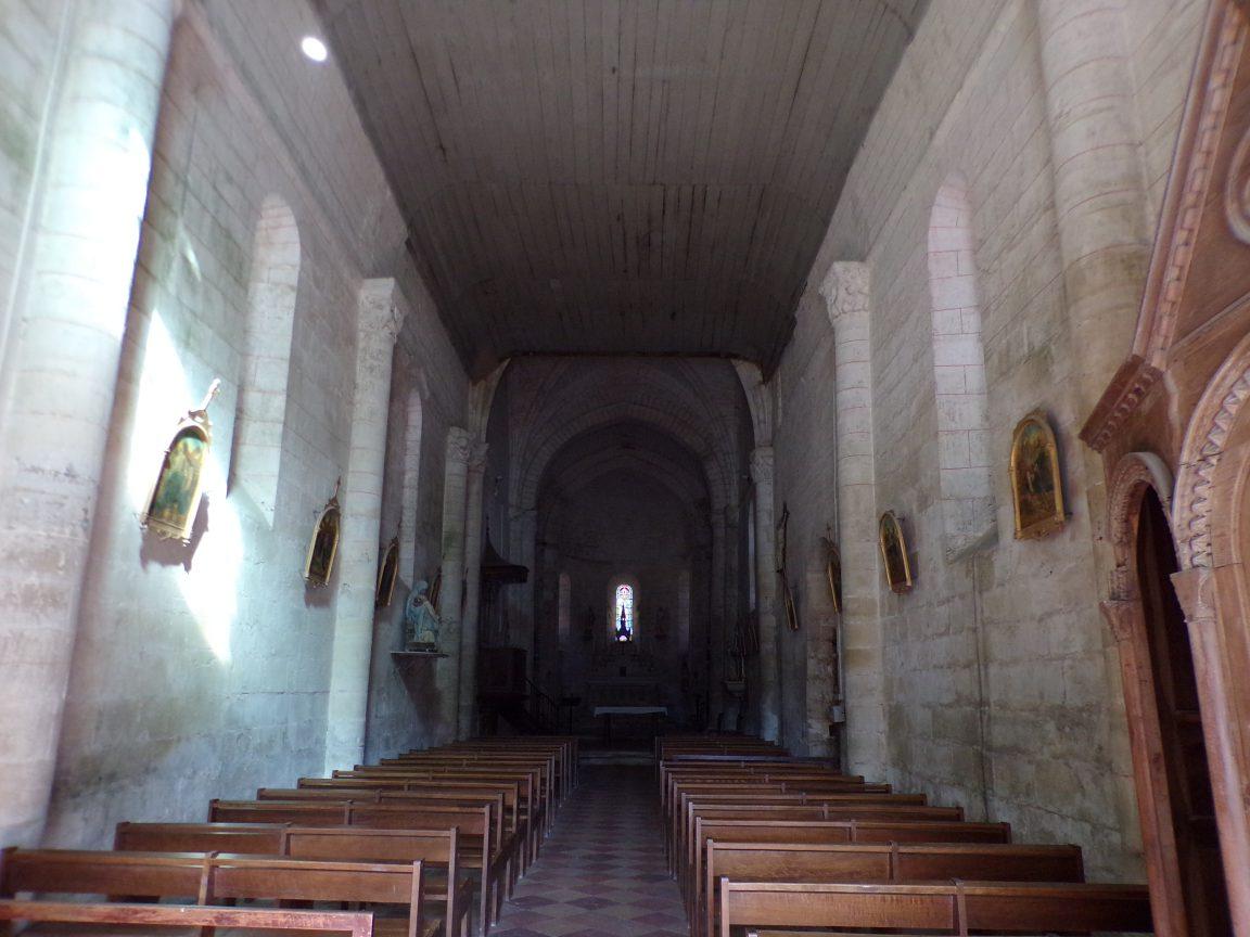 Migron - L'église Saint-Nazaire - Vue de l'entrée (19 juin 2018)
