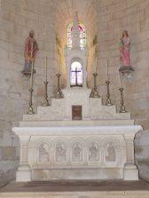 Migron - L'église Saint-Nazaire - L'autel (19 juin 2018)
