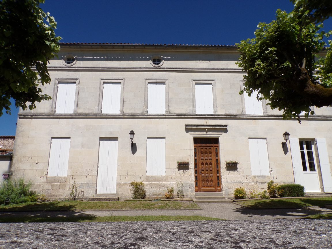 Montils - L'ancienne mairie (25 juin 2018)