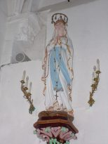 Montils - L'église Saint-Sulpice - Vierge Miraculeuse (25 juin 2018)