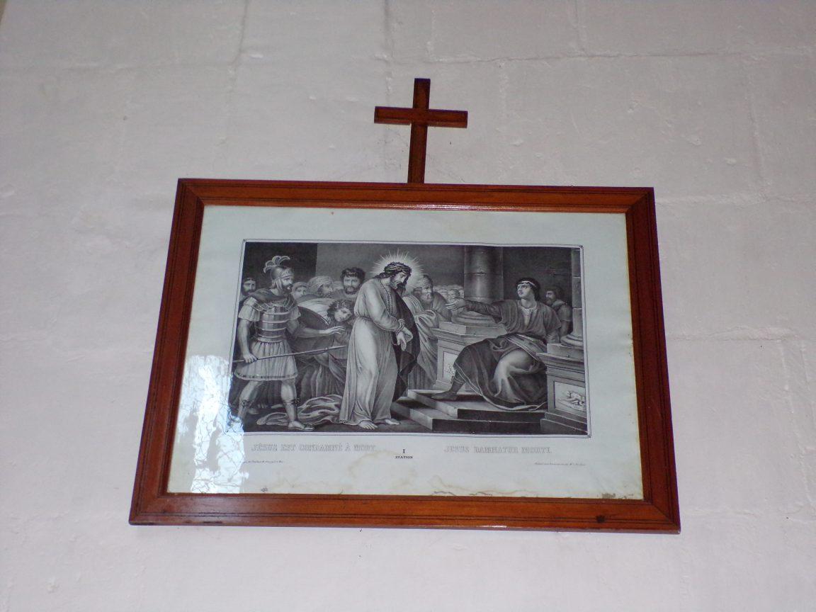 Montils - L'église Saint-Sulpice - Le chemin de croix (25 juin 2018)