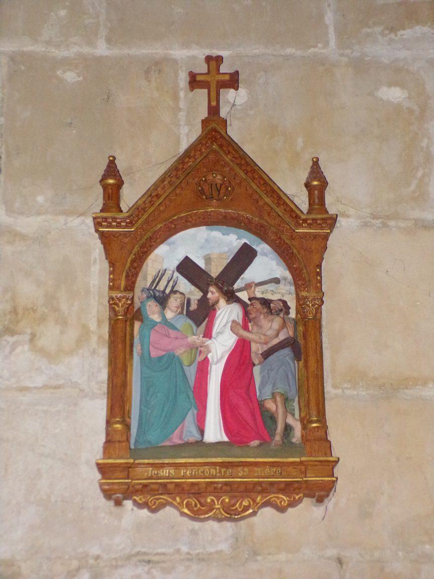 Pérignac - L'église Saint-Pierre - Le chemin de croix (25 juin 2018)