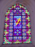 Pérignac - L'église Saint-Pierre - Le vitrail (25 juin 2018)