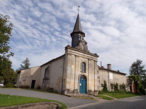 Rouffiac - L'église Saint-Vivien (8 juin 2018)
