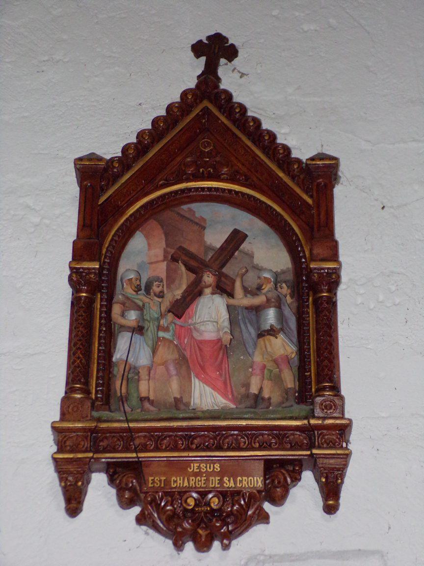 Saint-André - L'église Saint-André - Le chemin de croix (6 juin 2018)