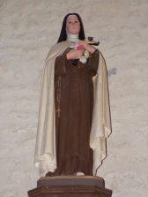 Salignac-sur-Charente - L'église Saint-Louis - Sainte Thérèse de l'Enfant Jésus (27 juin 2018)