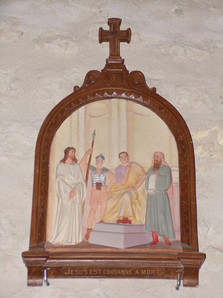 Salignac-sur-Charente - L'église Saint-Louis - Le chemin de croix (27 juin 2018)