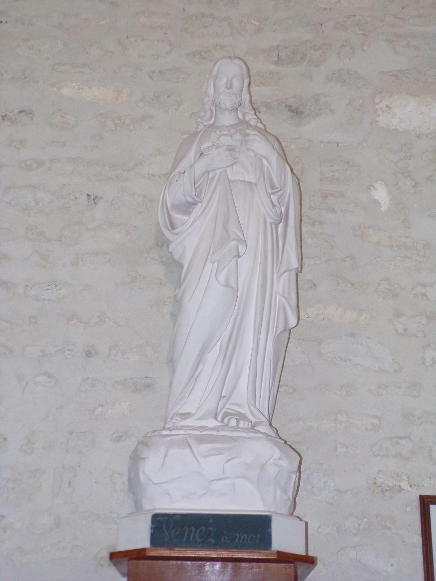 Salignac-sur-Charente - L'église Saint-Louis - Sacré Coeur de Jésus (27 juin 2018)
